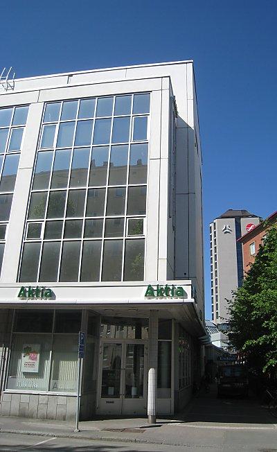 Aktia Pankki Oyj - Tampere - Ratinanlinna