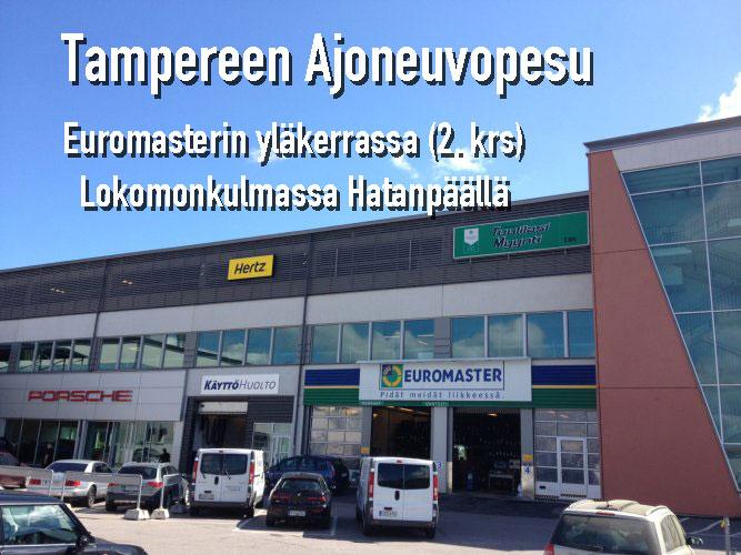 Tampereen Ajoneuvopesu Oy, Lokomonkatu 25 D, 33900 Tampere