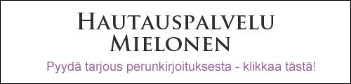 Hautauspalvelu Mielonen - Perunkirjoitukset - Tampere
