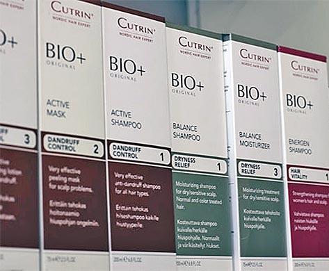 Meiltä Bio+ hiustenhoitosarjan tuotteet