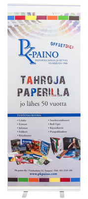 Roll-Up telineet PK-Painosta Tampereelta!