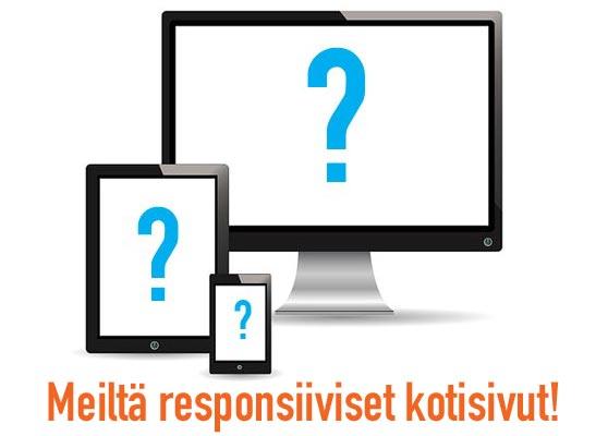 Meiltä responsiiviset nettisivut yrityksellesi!