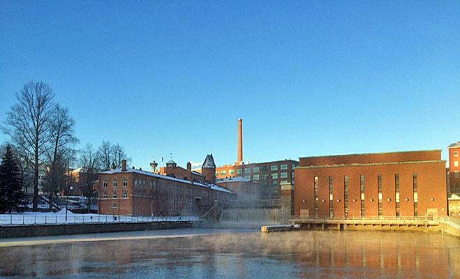 Tammerkoski talvella 2015 | Tammerkoski Rapids Winter 2015