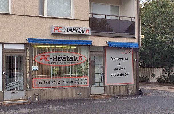 Tietokonehuolto PC-Räätäli, Pispalan valtatie 54, 33270 Tampere