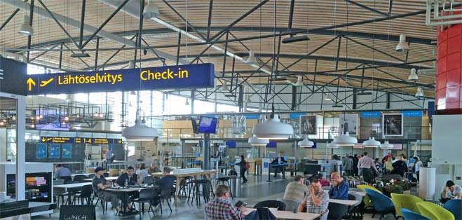 Airport Terminal - Tampere Pirkkala - Finland