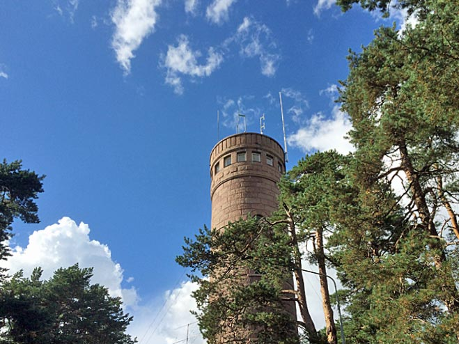 Pyynikki Observation Tower in Tampere
