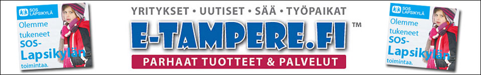 e-tampere.fi - Olemme tukeneet SOS-Lapsikylän toimintaa