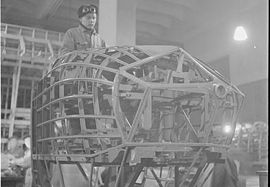 Airplane construction in Tampere during the war
