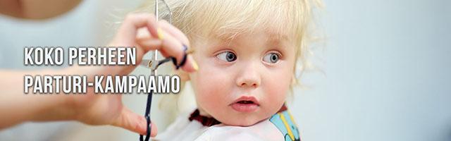 Koko perheen parturi-kampaamo Tampereen Sammonkadulla