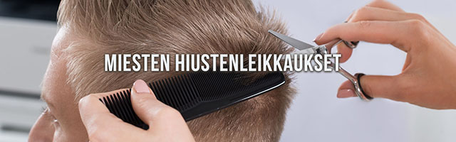 MIesten hiustenleikkaukset Tampereen Kalevassa